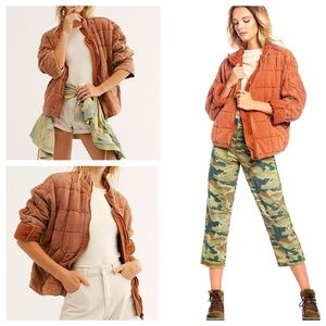Free People | Dolman Quilted Knit Jacket